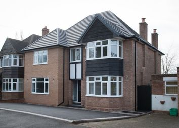 Thumbnail 5 bed detached house for sale in Lichfield Road, Four Oaks, Sutton Coldfield
