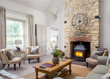 Thumbnail 4 bedroom detached house for sale in Fossebridge, Cheltenham, Gloucestershire