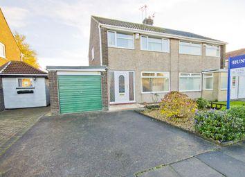 Thumbnail 3 bed semi-detached house for sale in Sherburn Avenue, Billingham