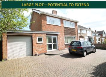 Thumbnail 4 bed detached house for sale in Sackville Gardens, Stoneygate, Leicester