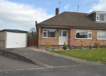 Thumbnail 2 bed semi-detached bungalow for sale in Brookside Close, Shepshed, Leicestershire