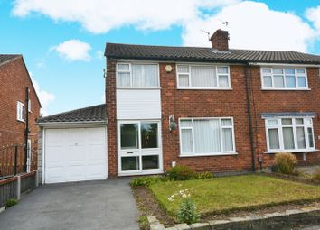 Thumbnail 3 bed semi-detached house for sale in East Avenue, Heald Green, Cheadle