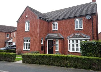 Thumbnail 4 bed detached house for sale in Caldera Road, Hadley, Telford