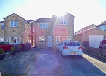 Thumbnail 4 bed detached house for sale in Mosstree Close, Queensbury, Bradford