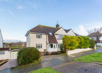 Thumbnail 5 bed semi-detached house for sale in Hangleton Gardens, Hove