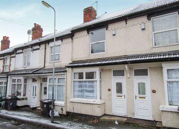 Thumbnail 3 bedroom terraced house for sale in Merridale Street West, Merridale, Wolverhampton