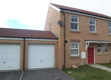 Thumbnail 2 bed terraced house to rent in Meadowfield, Burnhope, Durham