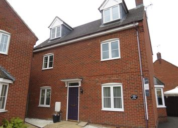 Thumbnail 4 bed detached house for sale in Gapstile Close, Desborough, Kettering