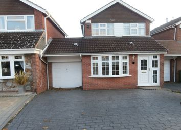 Thumbnail 3 bed link-detached house to rent in Tyrley Close, Compton, Wolverhampton