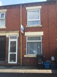 Thumbnail 2 bedroom terraced house to rent in Congleton Road, Butt Lane, Stoke-On-Trent