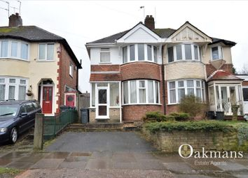 Thumbnail 3 bedroom semi-detached house for sale in Corisande Road, Birmingham, West Midlands.