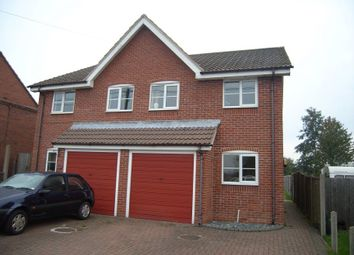 Thumbnail 3 bed semi-detached house to rent in New Street, Measham, Swadlincote