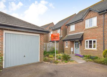 Thumbnail 3 bed semi-detached house for sale in Crombie Close, Hawkinge, Folkestone