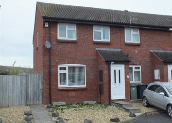 Thumbnail 3 bedroom end terrace house to rent in Phipps Close, Westbury, Wiltshire