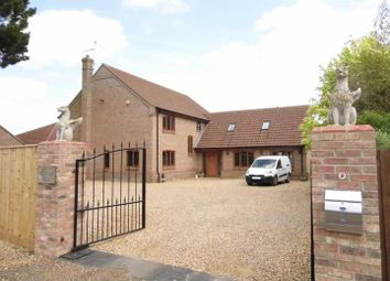 Thumbnail 5 bed detached house for sale in Church Road, Tilney All Saints, King's Lynn