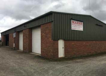 Thumbnail Industrial to let in Rose Cottage Yard, Laversdale Road End, Carlisle
