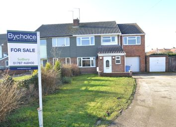 Thumbnail 5 bedroom semi-detached house for sale in Swanfield, Long Melford, Sudbury