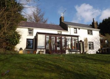 Thumbnail 4 bed detached house for sale in Garndolbenmaen, Gwynedd