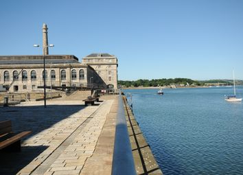 Thumbnail 1 bed flat to rent in Mills Bakery, Royal William Yard, Plymouth