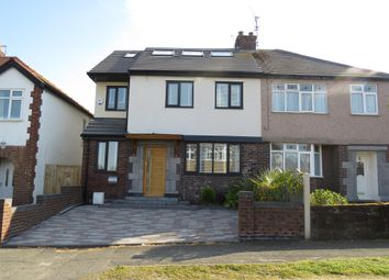 Thumbnail 4 bed semi-detached house for sale in Grange Road, Heswall, Wirral
