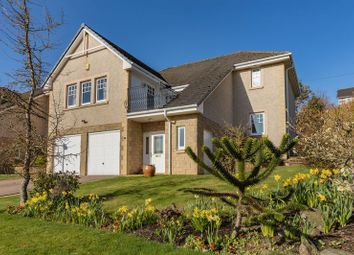 Thumbnail 4 bed detached house for sale in 4 Wedale View, Stow, Galashiels