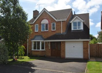 Thumbnail 4 bed detached house for sale in Elsham Way, Abbey Meads, Swindon