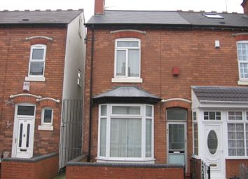 Thumbnail 3 bed end terrace house to rent in Willmore Road, Perry Barr, Birmingham