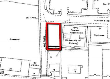 Thumbnail Land for sale in 19, Hunter Street, Oakshaw, Paisley PA11Dn