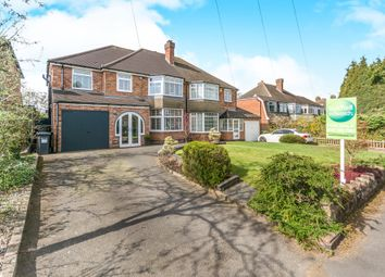 Thumbnail 4 bed semi-detached house for sale in Stonor Park Road, Solihull