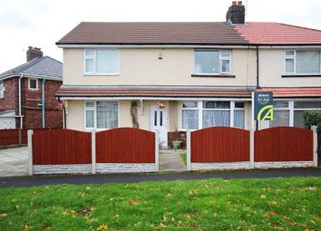 Thumbnail 4 bed semi-detached house for sale in Chisnall Avenue, St Helens