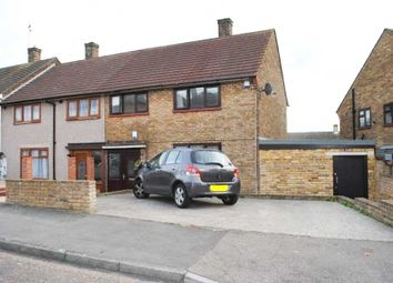 Thumbnail 3 bed end terrace house for sale in Preston Road, Romford