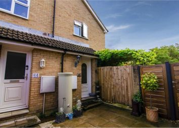 Thumbnail 1 bed end terrace house for sale in Coxmoor Close, Church Crookham, Fleet, Hampshire
