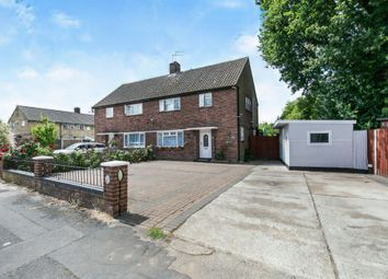 Thumbnail 3 bedroom semi-detached house for sale in Prince Charles Road, Colchester
