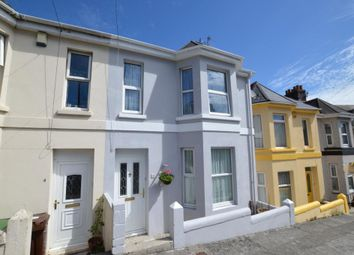 Thumbnail 4 bed terraced house for sale in Mostyn Avenue, Plymouth, Devon