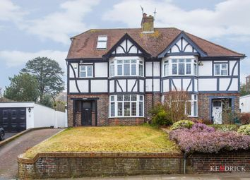 Thumbnail 4 bed semi-detached house for sale in Park View Road, Hove