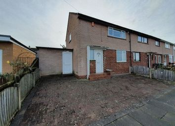 Thumbnail 2 bed end terrace house for sale in Burnrigg, Carlisle