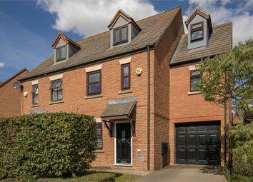 Thumbnail 4 bedroom semi-detached house for sale in Kilwinning Drive, Monkston, Milton Keynes, Buckinghamshire