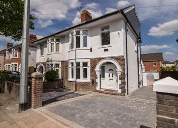 Thumbnail 5 bedroom semi-detached house for sale in Manor Way, Whitchurch, Cardiff