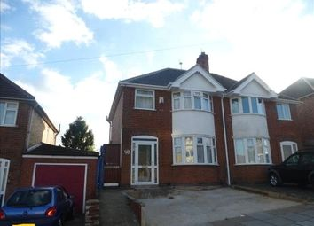 Thumbnail 3 bedroom semi-detached house for sale in Somerset Avenue, Leicester