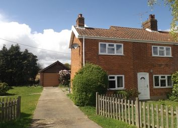 Thumbnail 2 bed property to rent in Thurlton, Norwich