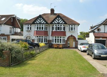 Thumbnail 4 bed semi-detached house to rent in London Road, Ewell, Epsom