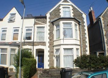 Thumbnail 4 bed flat to rent in Gordon Road, Cardiff