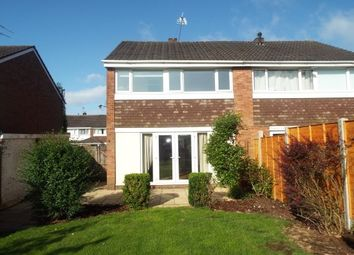 Thumbnail 3 bed property to rent in Alpine Drive, Cannock