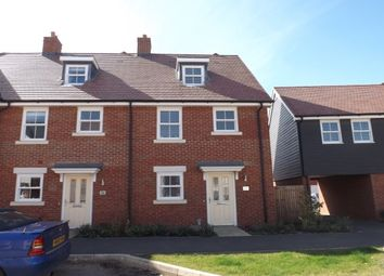 Thumbnail 3 bed property to rent in Walker Mead, Biggleswade