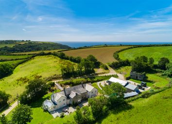 6 bed detached house for sale in Portholland, Roseland Peninsula, South Cornwall TR2
