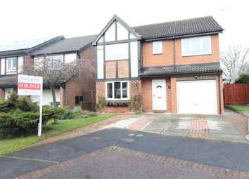 Thumbnail 5 bed detached house for sale in Ainsley Grove, Faverdale, Darlington