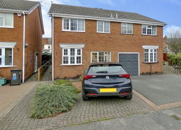 Thumbnail 3 bed semi-detached house for sale in Frisby Avenue, Long Eaton, Nottingham