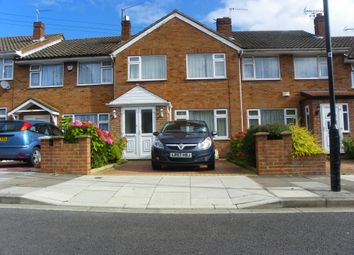 Thumbnail 3 bed terraced house to rent in Kingston Close, Northolt
