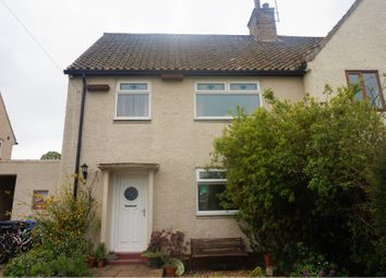 Thumbnail 3 bed semi-detached house for sale in Fontside, Morpeth