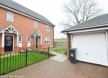 Thumbnail 3 bed semi-detached house for sale in Chamberlain Way, Shortstown